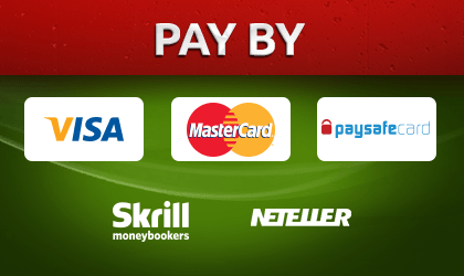 Goldrun Casino offers you safe payment methods such as Visa, Mastercard, Paysafecard, Skrill and Netelller.